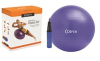 Cosfer CSF65CMKTM Kutulu Pilates Topu Mavi Pompa