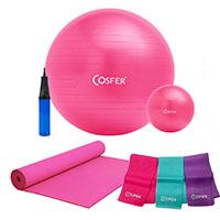 Cosfer CSFSET13 Pilates Seti, Pilates Topu