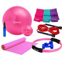 Cosfer CSFSET-07 Komple Yeni Pilates Seti