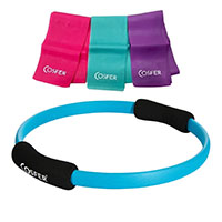 Cosfer CSFPCSET4T Pilates Çemberi ve Pilates Band