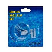 Cosfer CSFACSF (Şeffaf) Silikon Kulak ve Burun Tıkacı