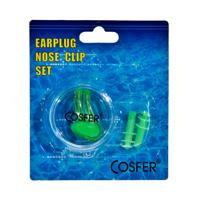 Cosfer CSFACY (Yeşil) Silikon Kulak ve Burun Tıkacı