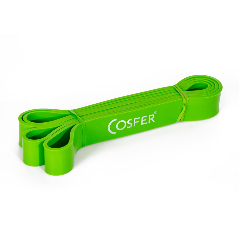 Cosfer Latex Güç Bandı 32 Mm Yeşil