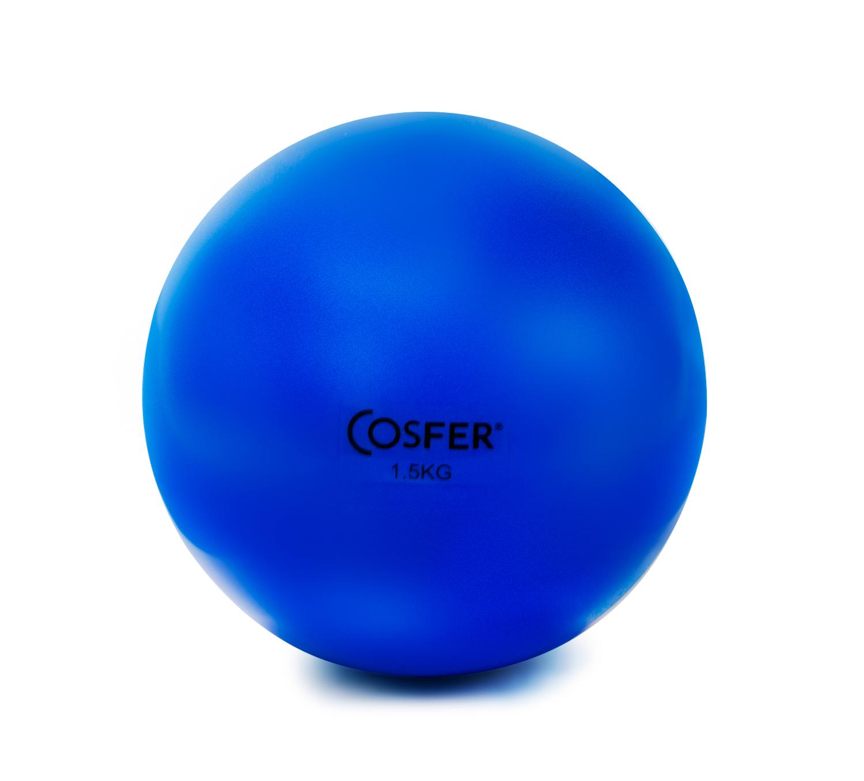 Cosfer Pilates Ağırlık ( Toning) Topu 1,5 Kg