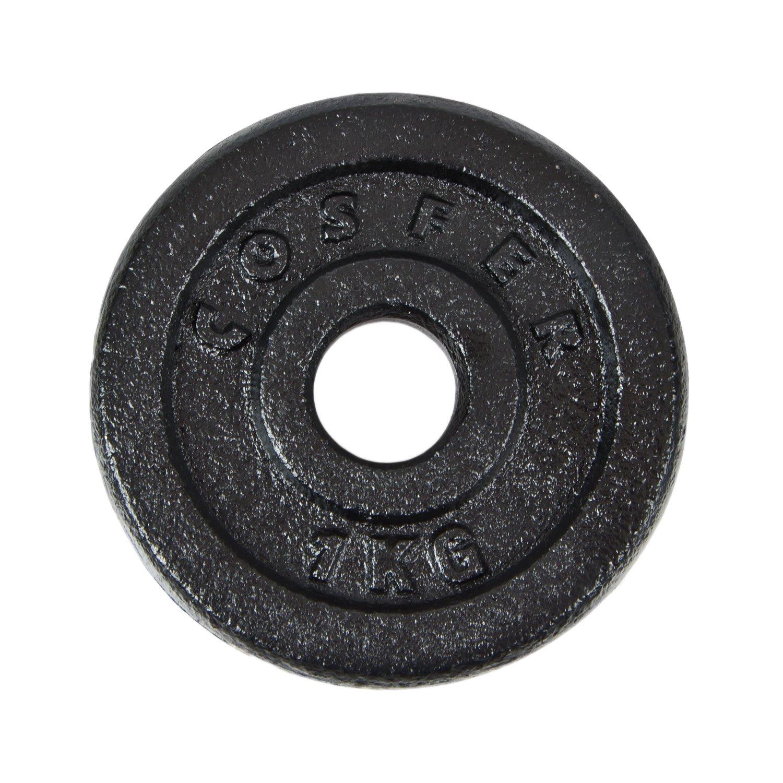 Cosfer CSF1KGS Siyah Döküm Plaka