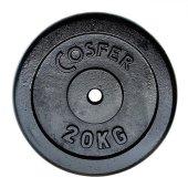 Cosfer CSF20KGS Siyah Döküm Plaka