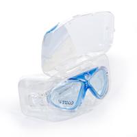 Cosfer CSF8170M (Mavi) Silikon Yüzücü Gözlüğü Şeffaf Özel Kutuda