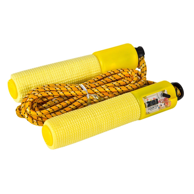 Cosfer CSFAIS Sayaçlı Atlama İpi - Sarı