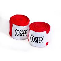Cosfer CSFEBK Boks Bandajı - Kırmızı